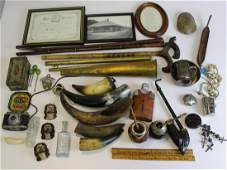 Unusual group of primitives and odd accessories