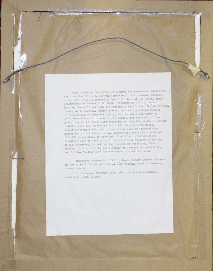 1823 Moses Boynton apprentice indenture - 5