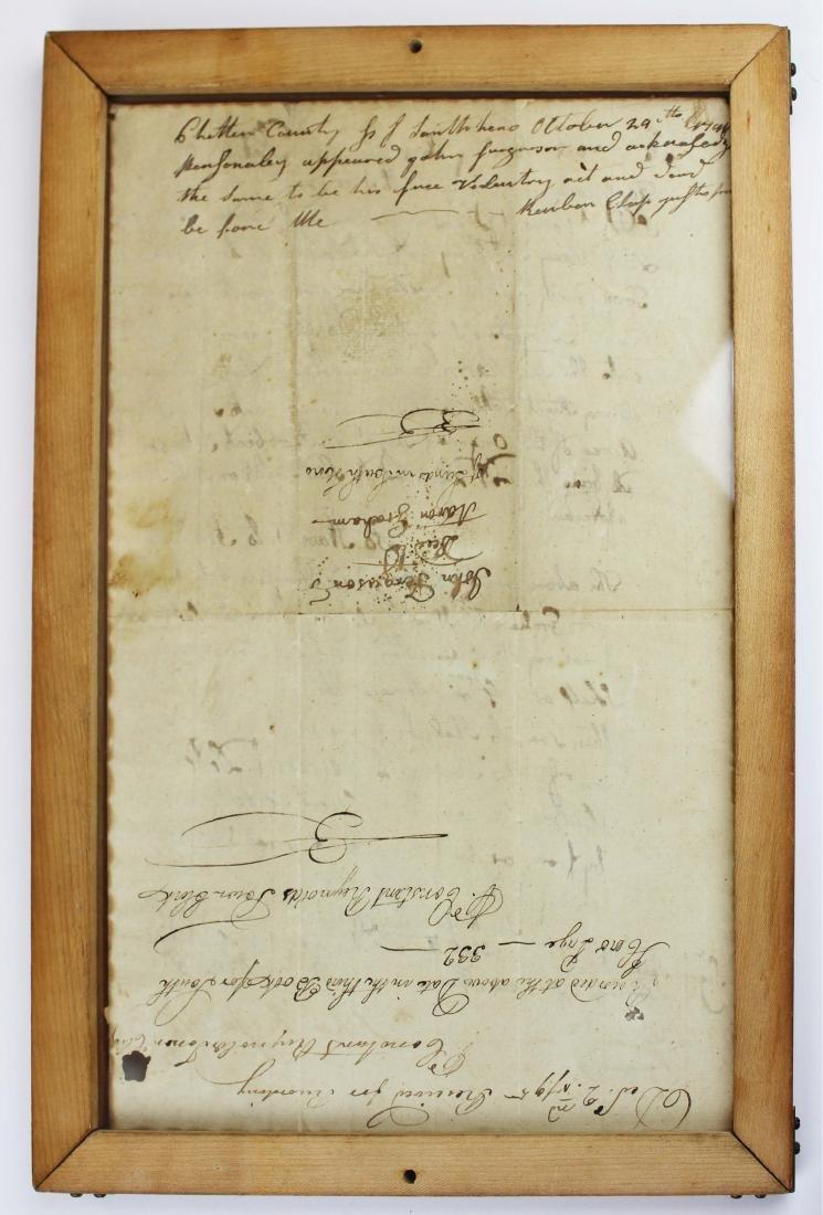 three ca 1795 South Hero, VT land deeds - 5