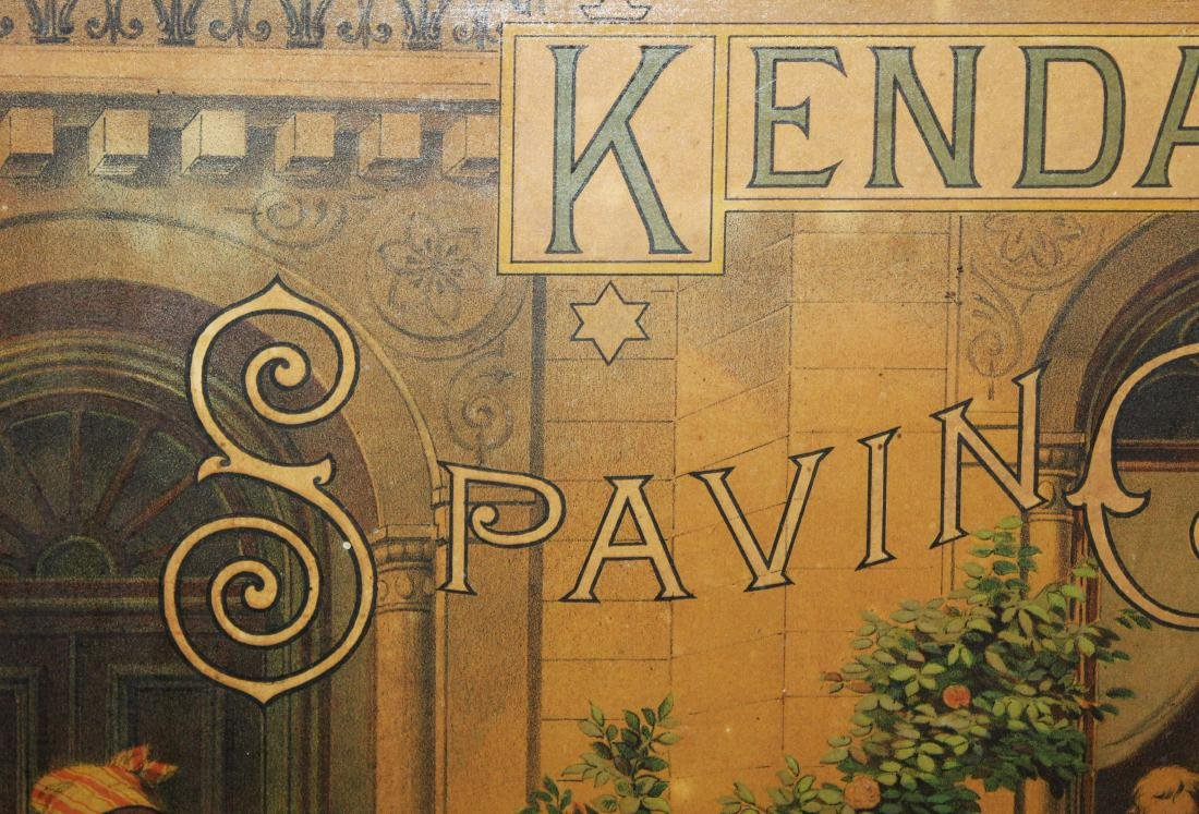 Kendall's Spavin Cure advertising poster - 2