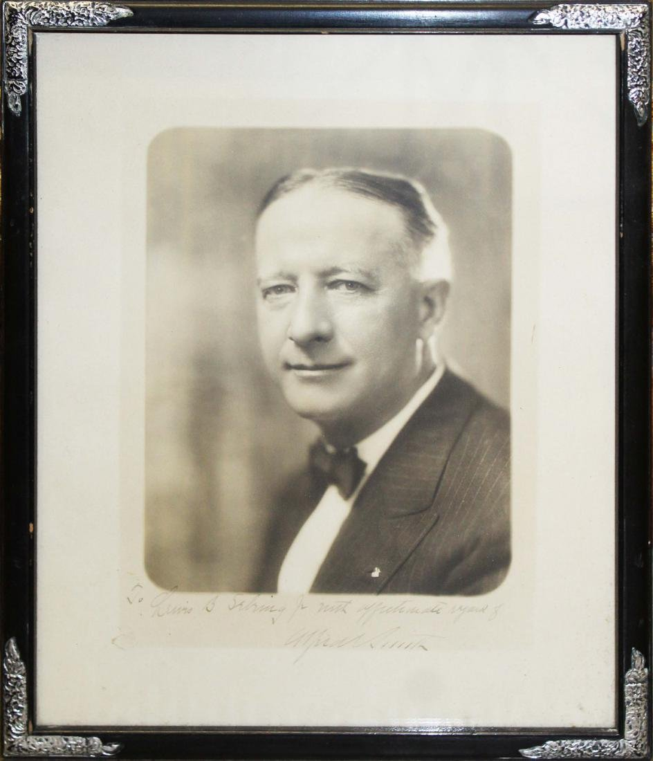 1926 Alfred Smith inscribed photograph