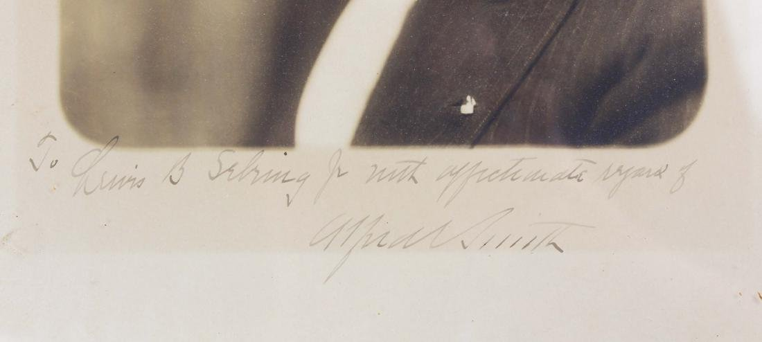 1926 Alfred Smith inscribed photograph - 2