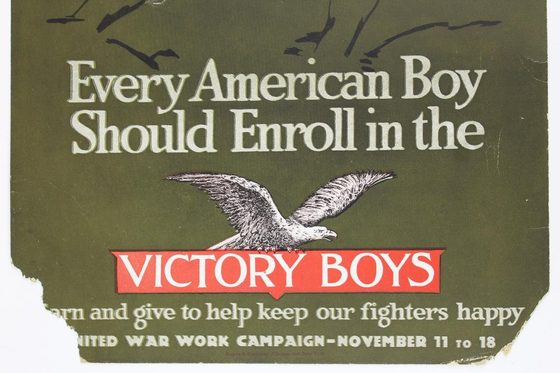 WWI Victory Boys enrollment poster - 3