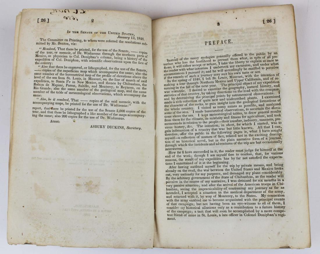 1848 Wislizenus A Tour to Northern Mexico - 10