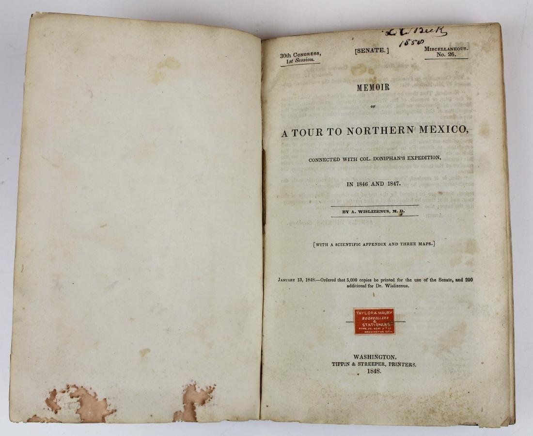 1848 Wislizenus A Tour to Northern Mexico - 2