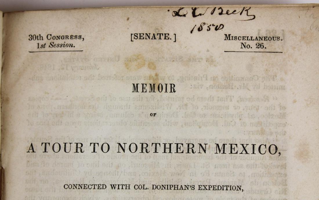 1848 Wislizenus A Tour to Northern Mexico - 7
