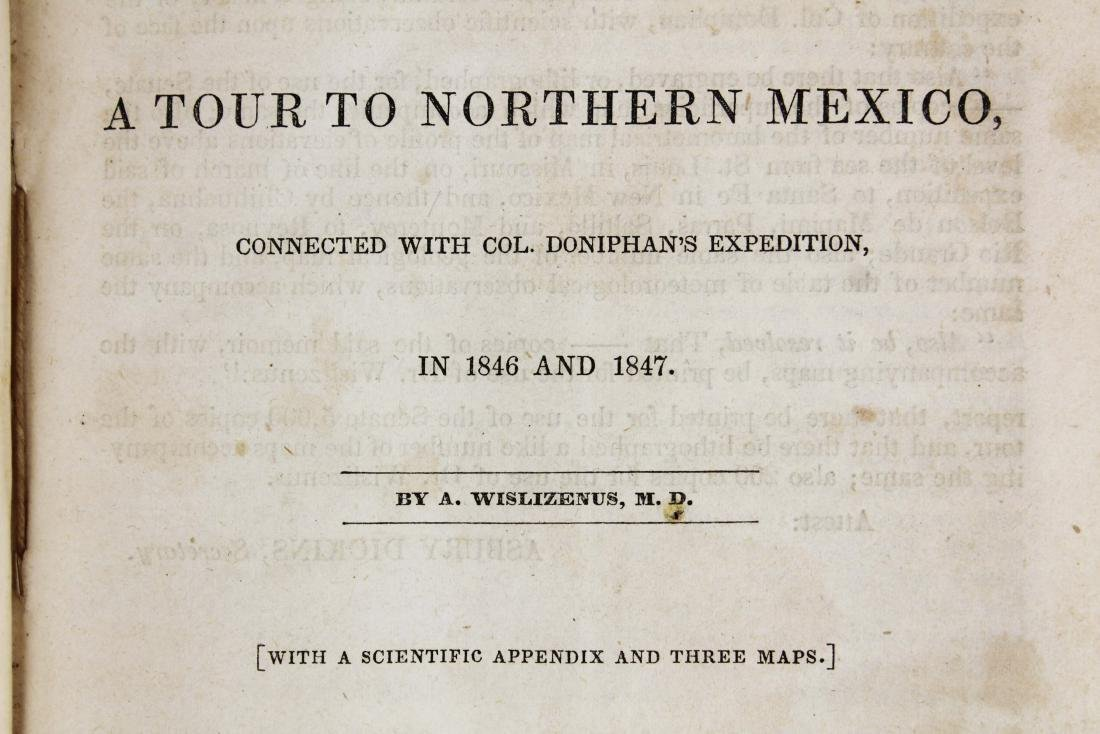 1848 Wislizenus A Tour to Northern Mexico - 8