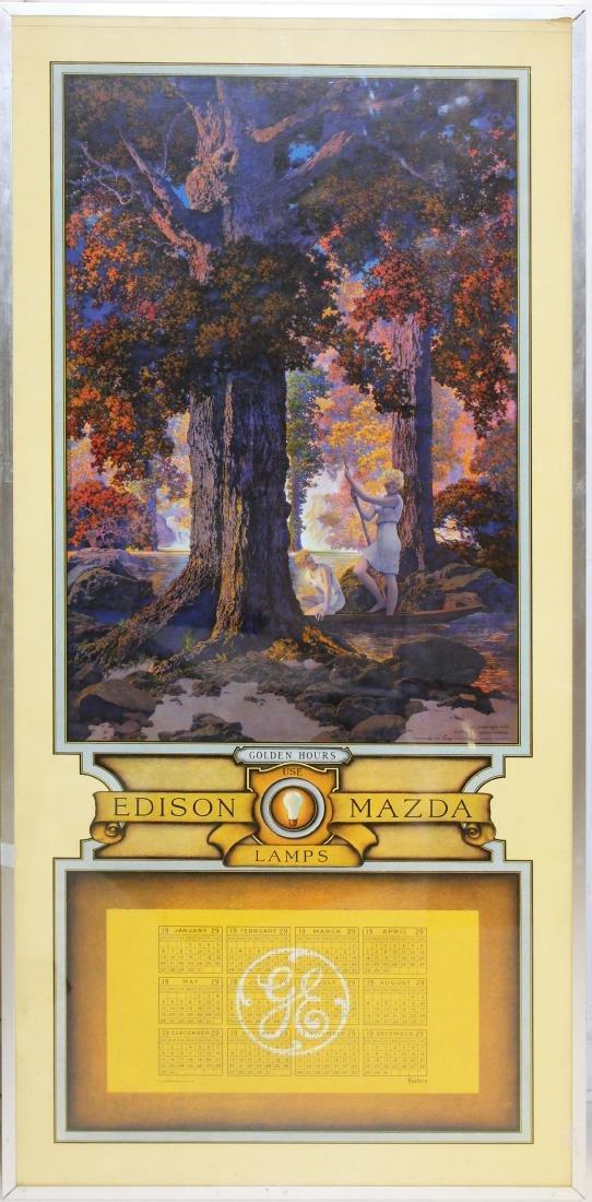 Maxfield Parrish Edison Mazda Golden Hours