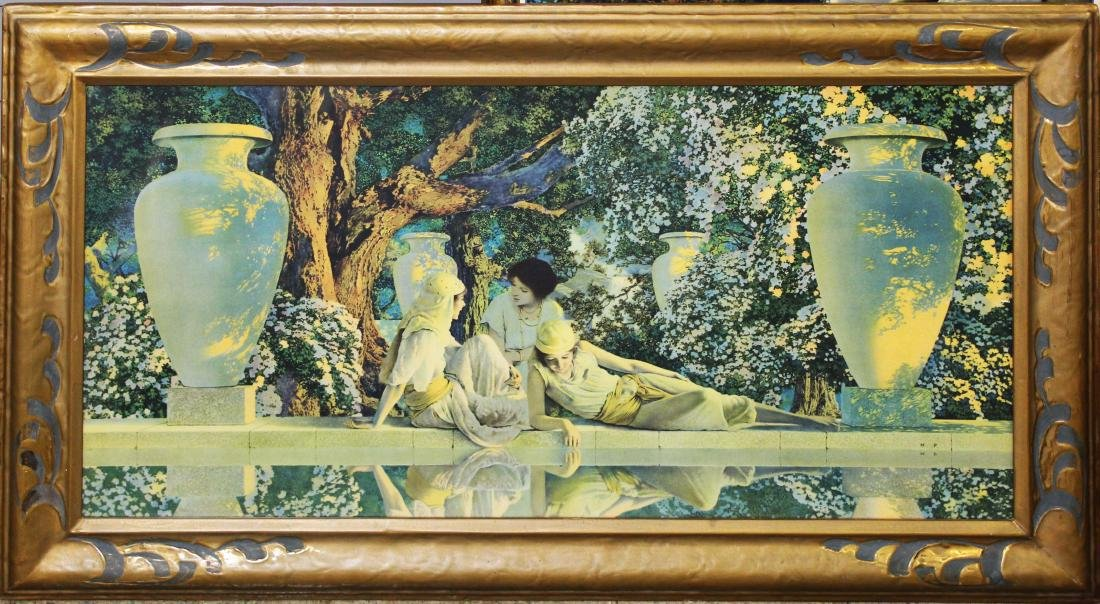 Maxfield Parrish large print Garden of Allah