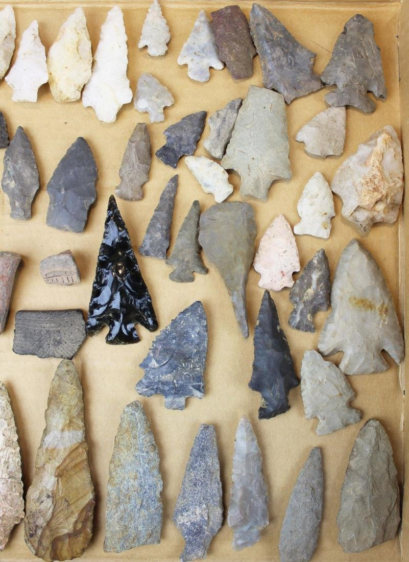 Prehistoric Native American lithic artifacts - 5