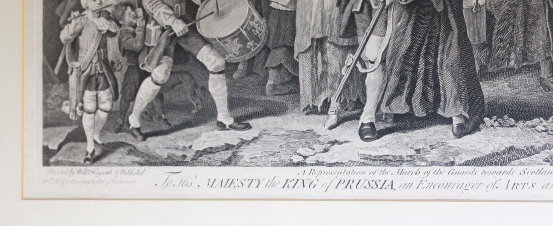 1761 Wm Hogarth King of Prussia engraving - 2
