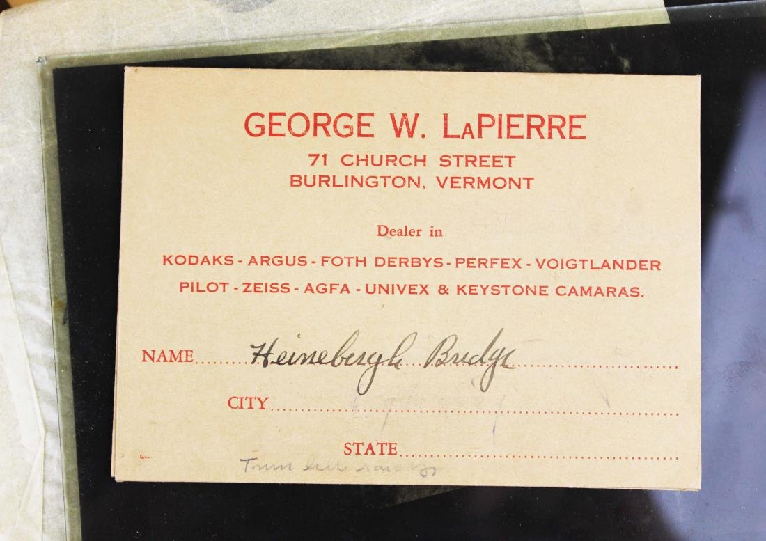 ca 1940 VT George LaPierre negatives - 3