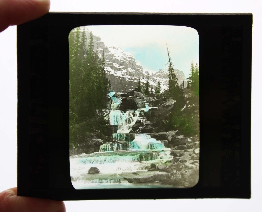 Canadian Pacific Railway color lantern slides - 2