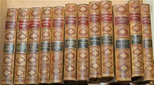 12 volume leatherbound Hawthorne's Works