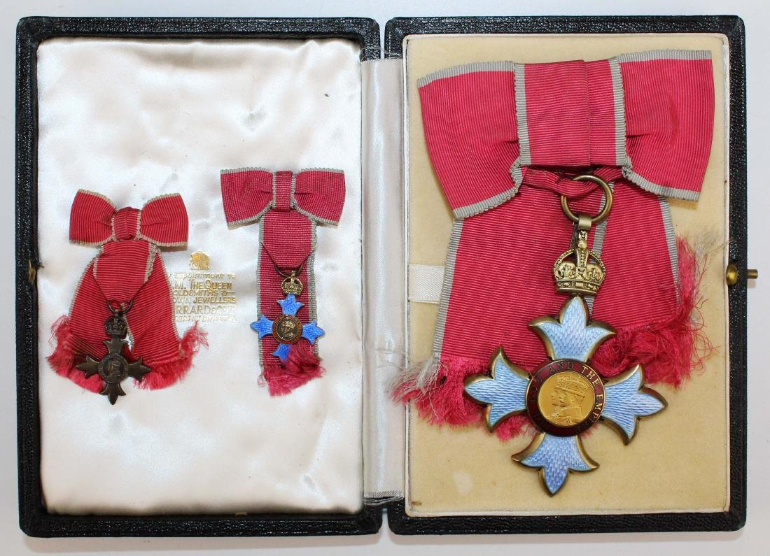 1964 Mary Louise Fordham British medals - 3