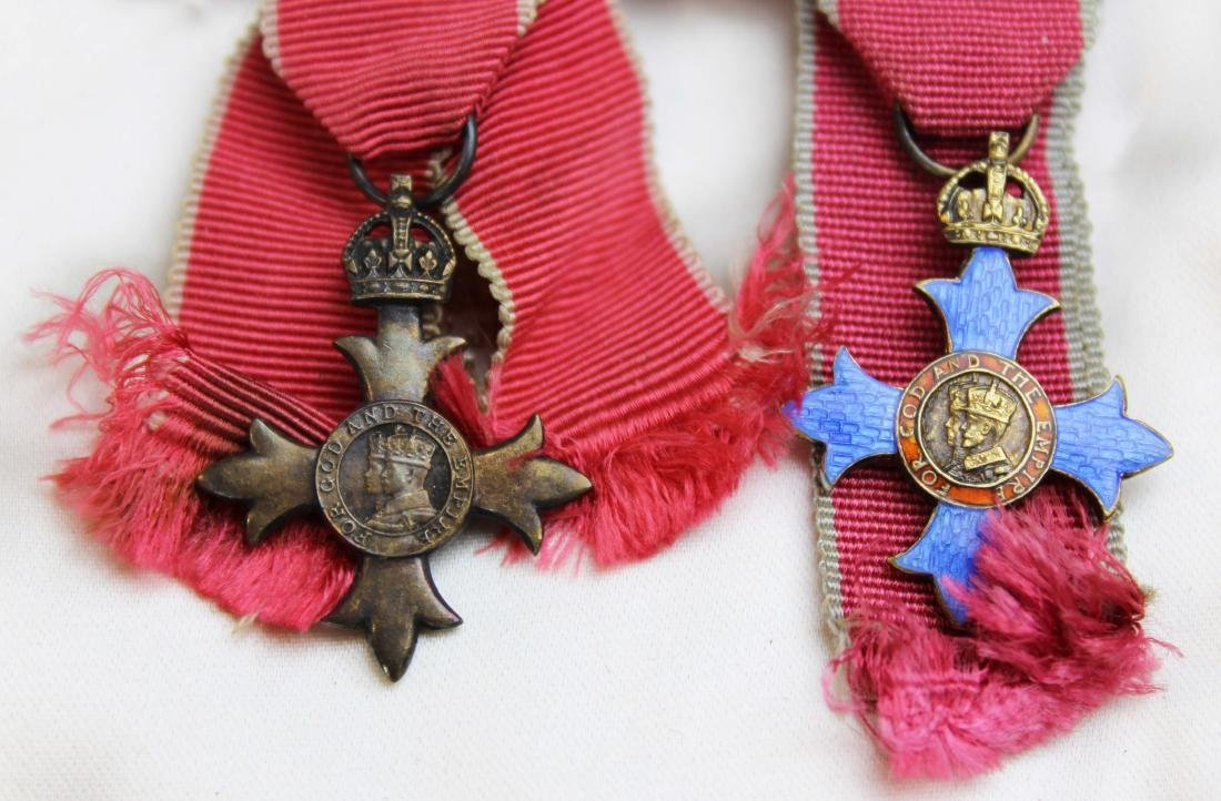 1964 Mary Louise Fordham British medals - 5