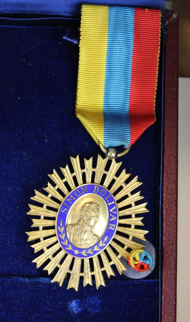 Mary Louise Fordham Latin American medals - 2