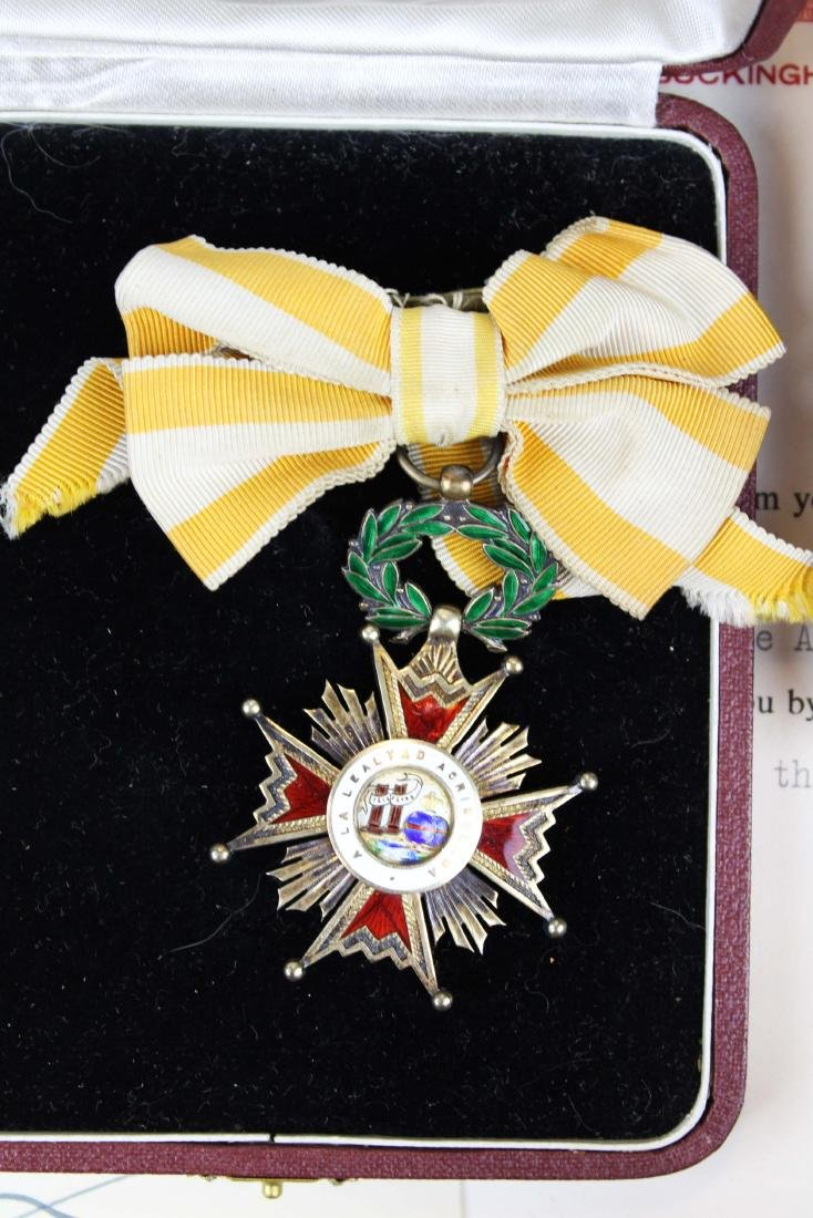 Mary Louise Fordham Latin American medals - 3