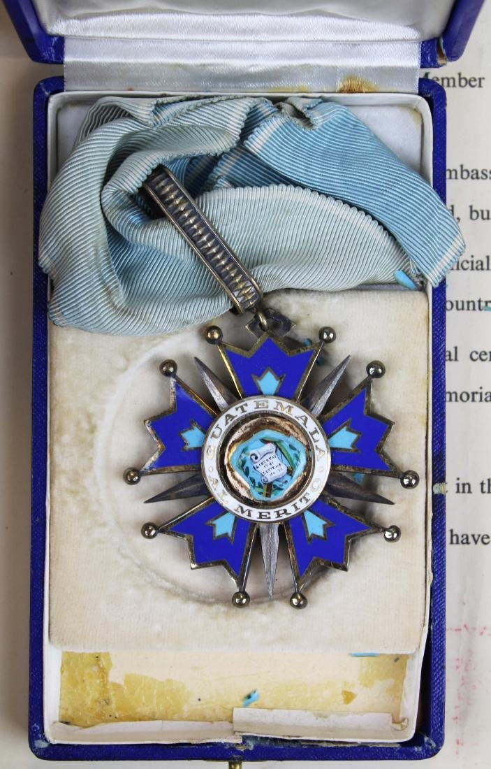 Mary Louise Fordham Latin American medals - 4