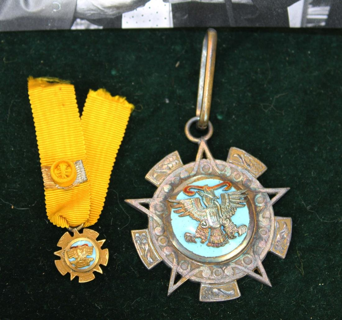 Mary Louise Fordham Latin American medals - 6