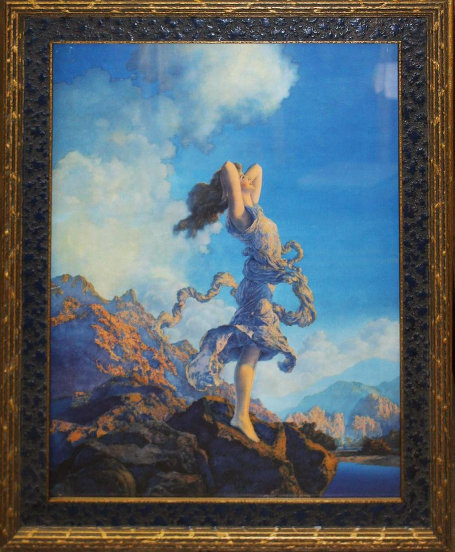 1930 Maxfield Parrish Ecstasy large print