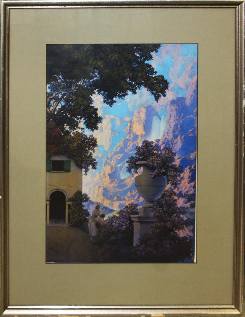 1933 Maxfield Parrish Sunrise large print