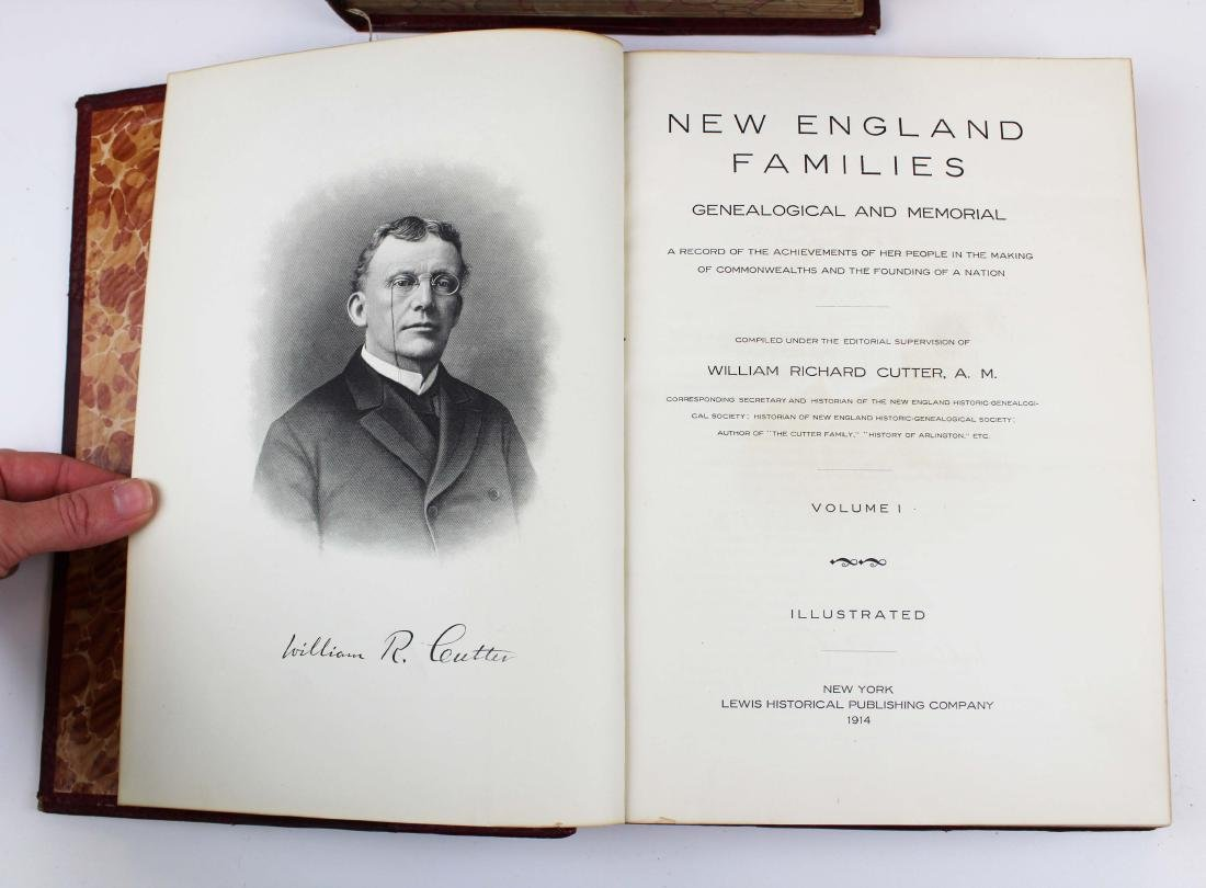 1914 New England Families by Wm Cutter - 3