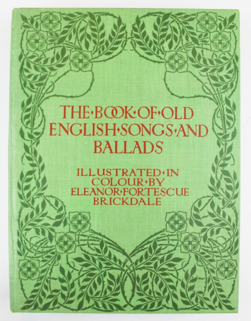 1920 Book of Old English Songs & Ballads