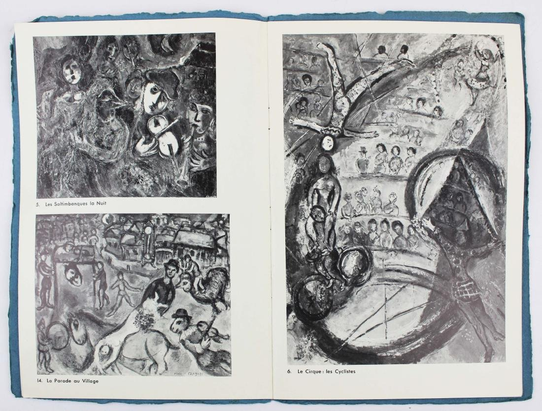 1965 Marc Chagall signed exhibition catalogue - 5