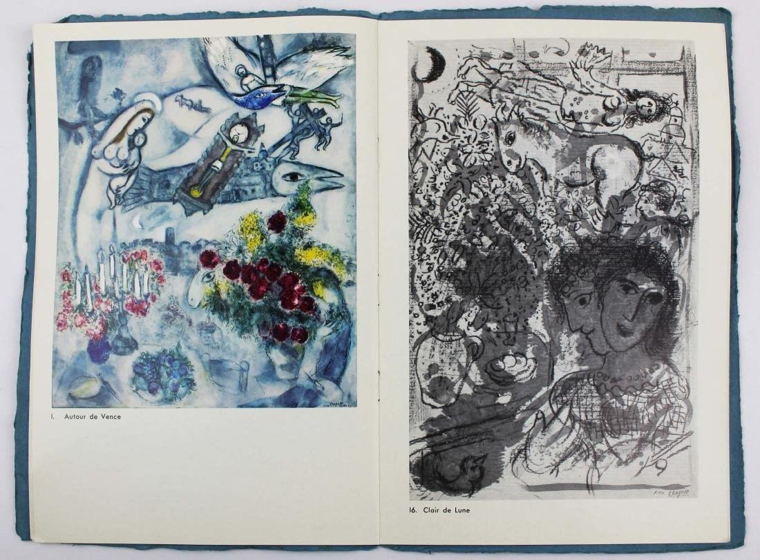 1965 Marc Chagall signed exhibition catalogue - 6