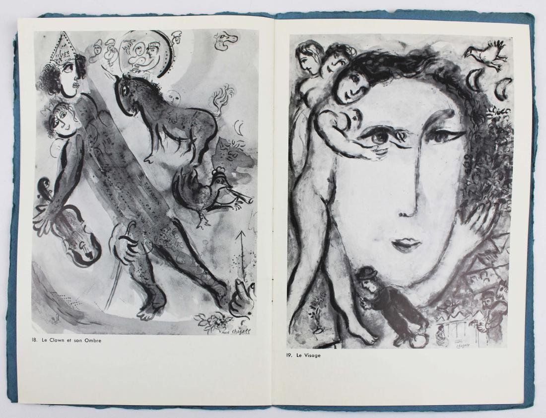 1965 Marc Chagall signed exhibition catalogue - 7