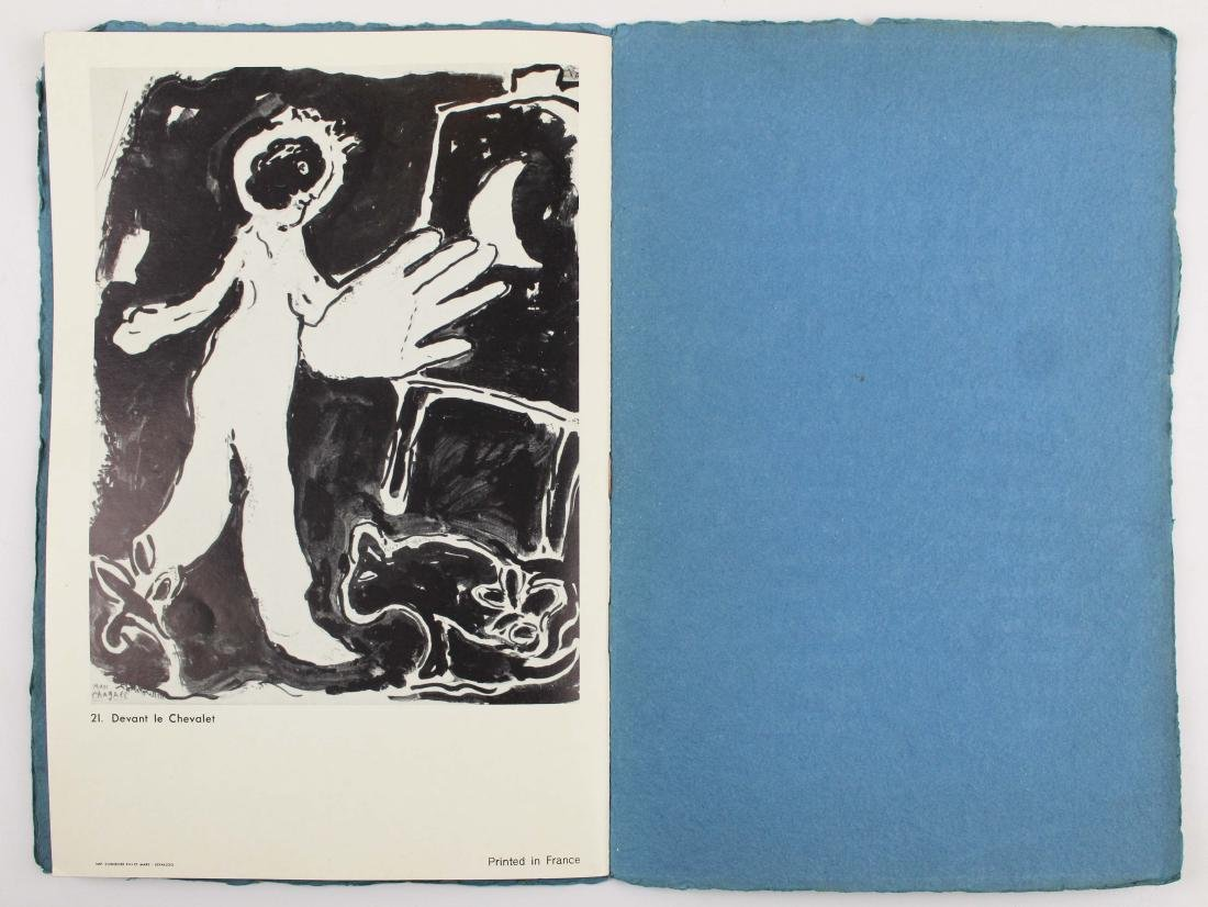 1965 Marc Chagall signed exhibition catalogue - 8