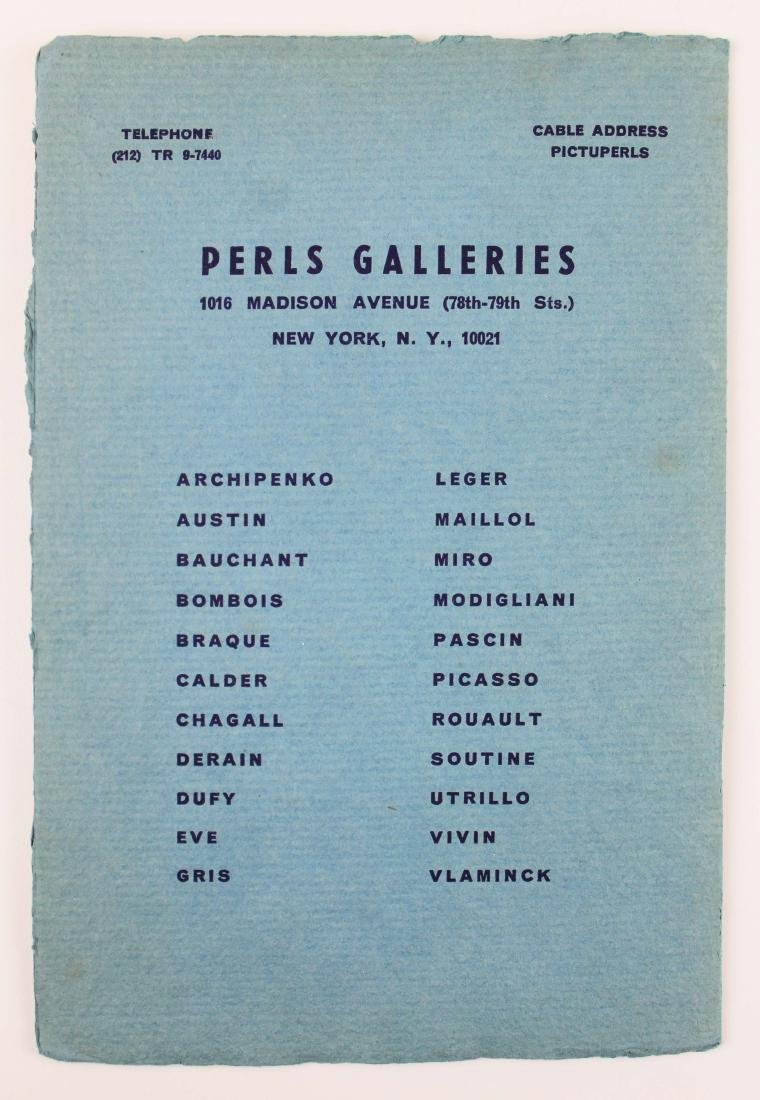 1965 Marc Chagall signed exhibition catalogue - 9