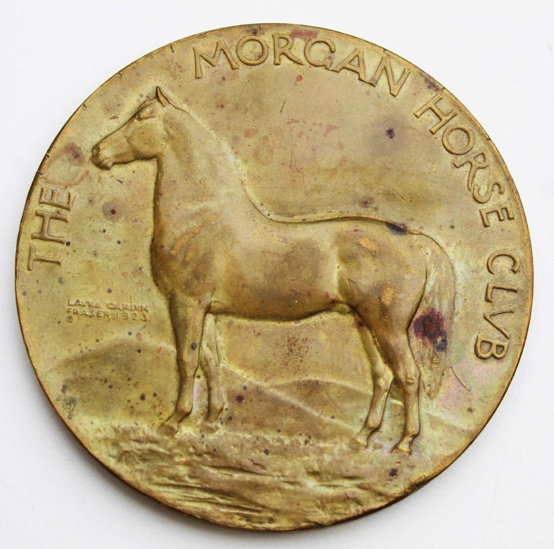 1923 Morgan Horse Club VT bronze medal - 2