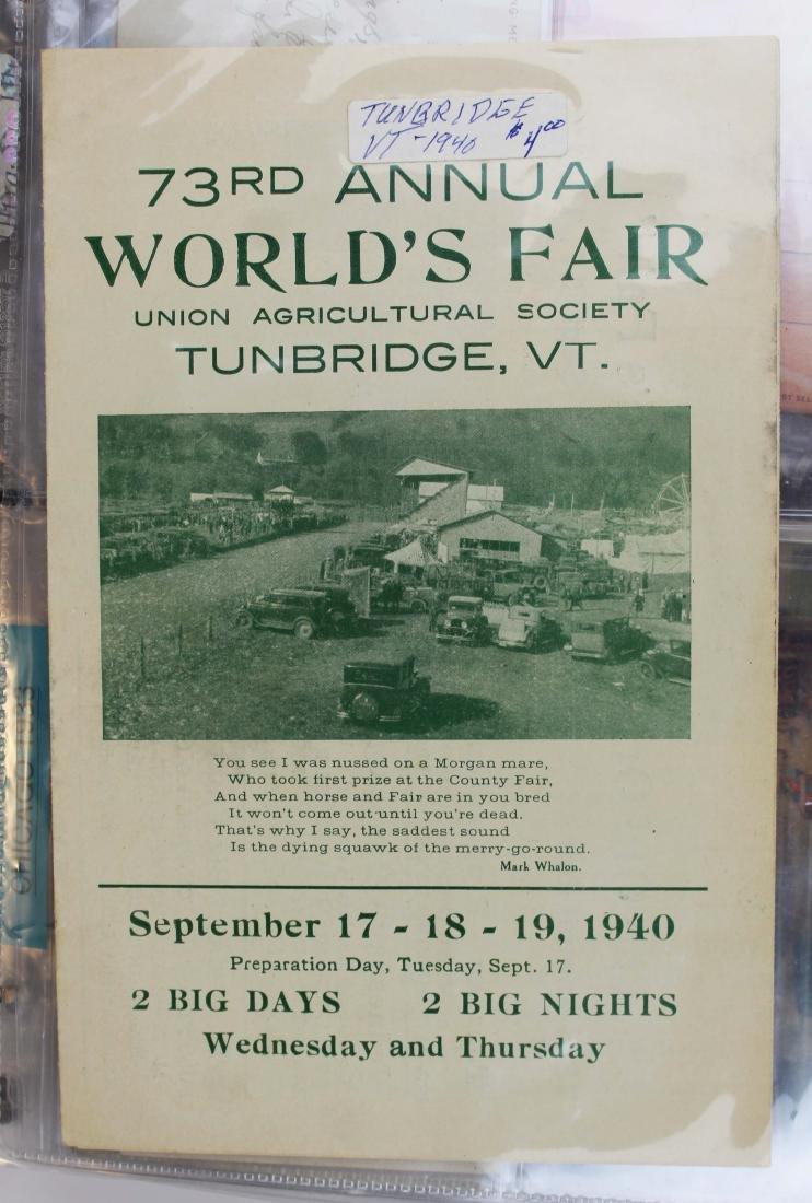 collection of World's Fair and Expo ephemera - 5