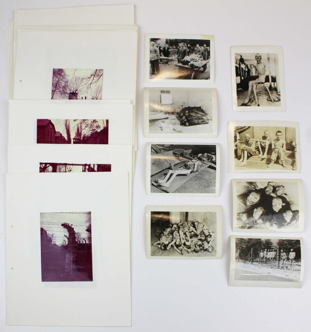 WWII Dachau, Auschwitz photo prints