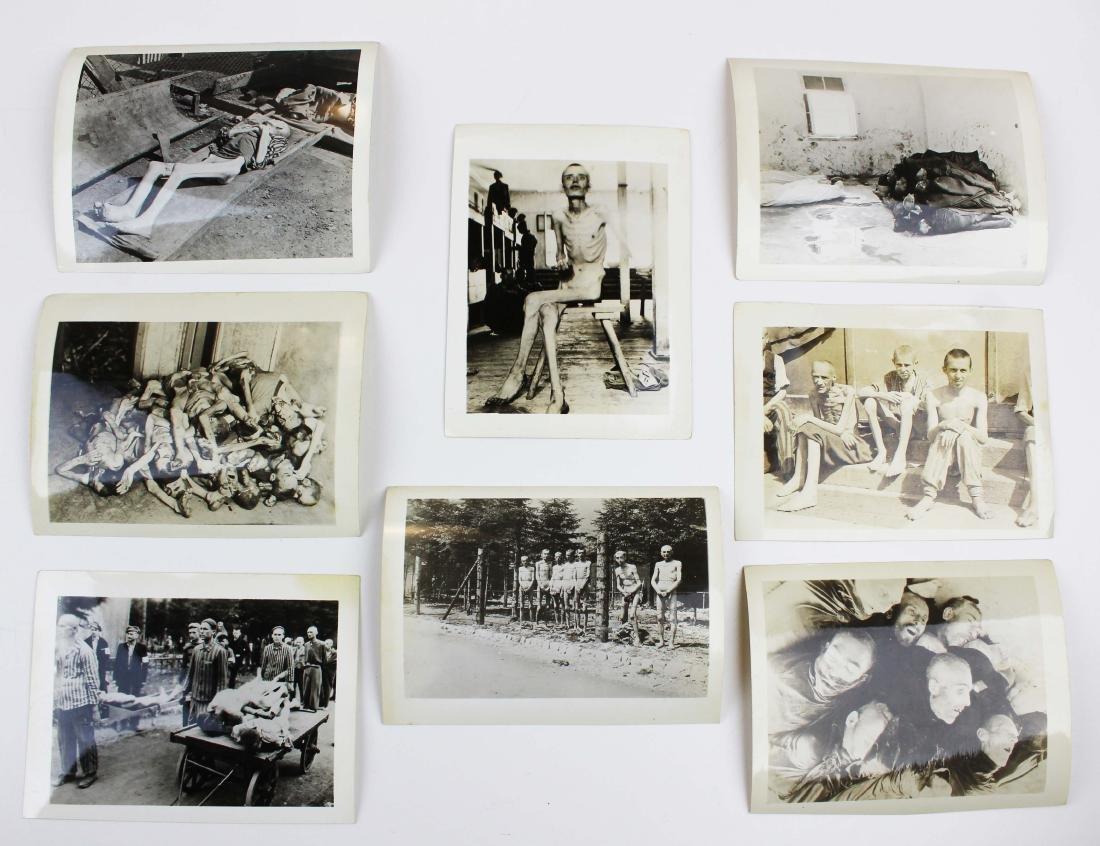 WWII Dachau, Auschwitz photo prints - 2
