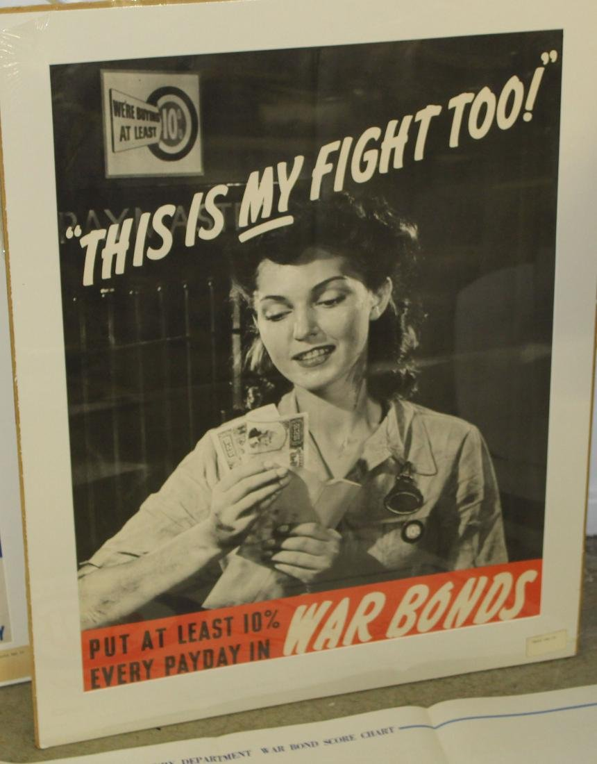 Six WWII War Bond posters - 3