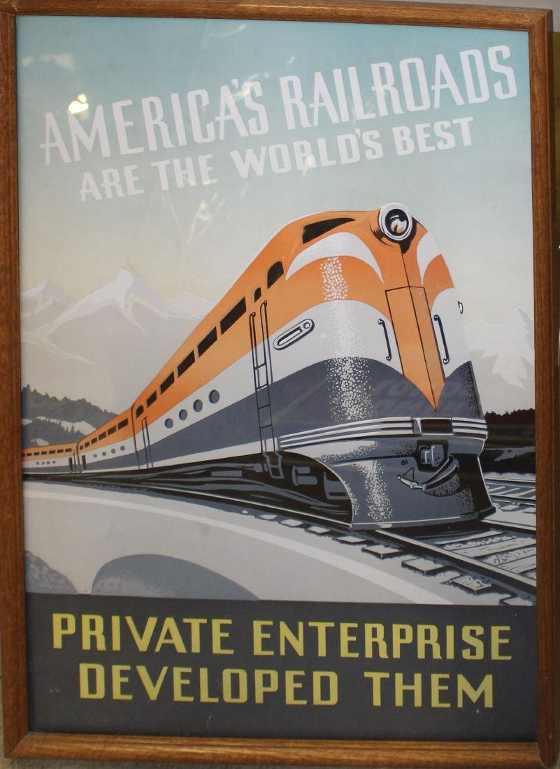 America's Railroads are the world's best poster