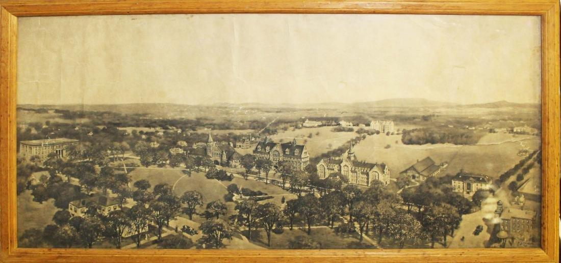 1907 Nichols Birdseye view of UVM