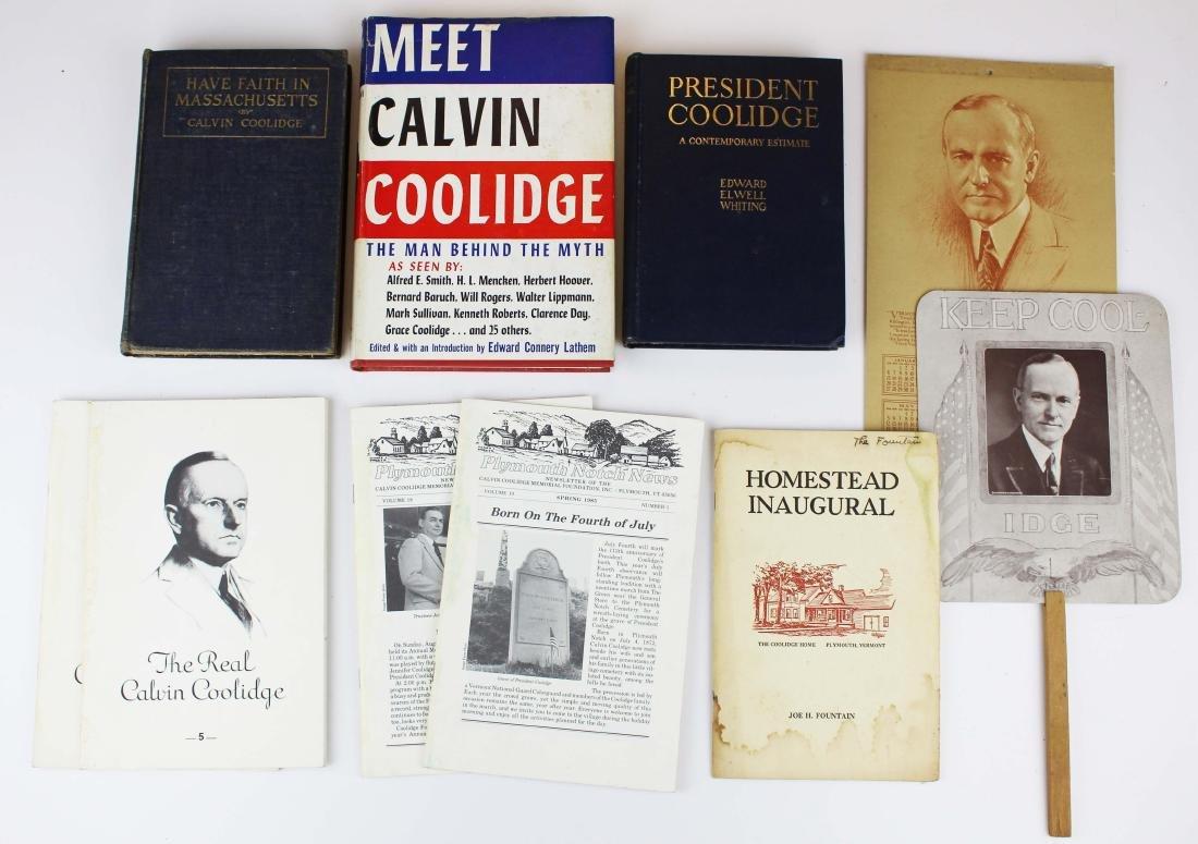 Lot of Calvin Coolidge