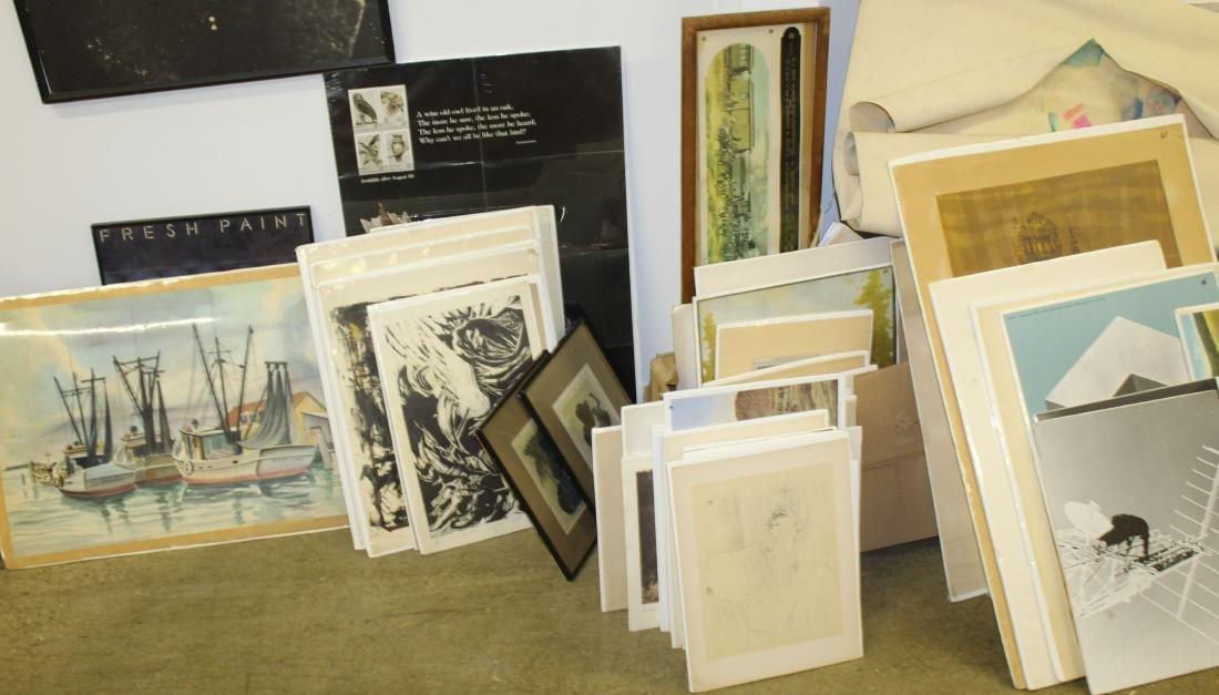 Huge lot of Posters, Prints, Ephemera, etc - 4