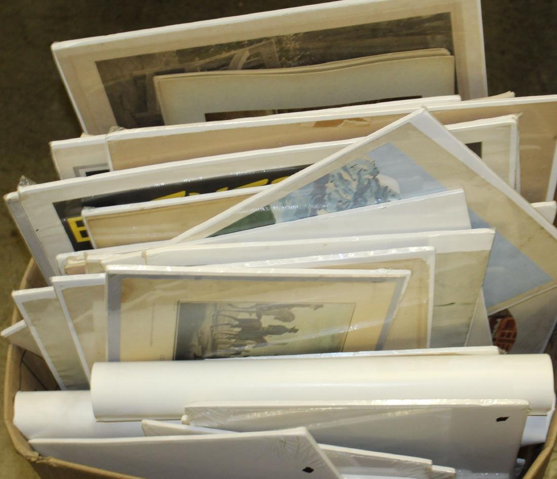 Huge lot of Posters, Prints, Ephemera, etc - 5