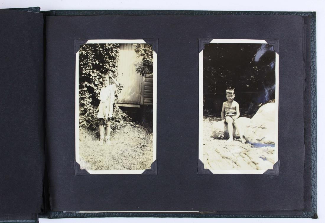 6 Worthen/Petty family 1920's snapshot albums - 3