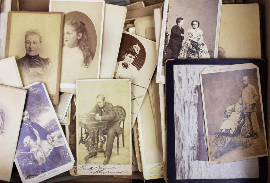 collection of historic photography, reward cards - 10