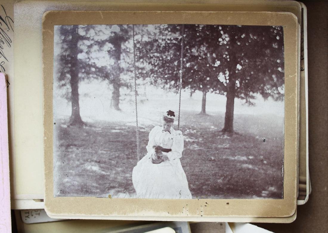 collection of historic photography, reward cards - 2