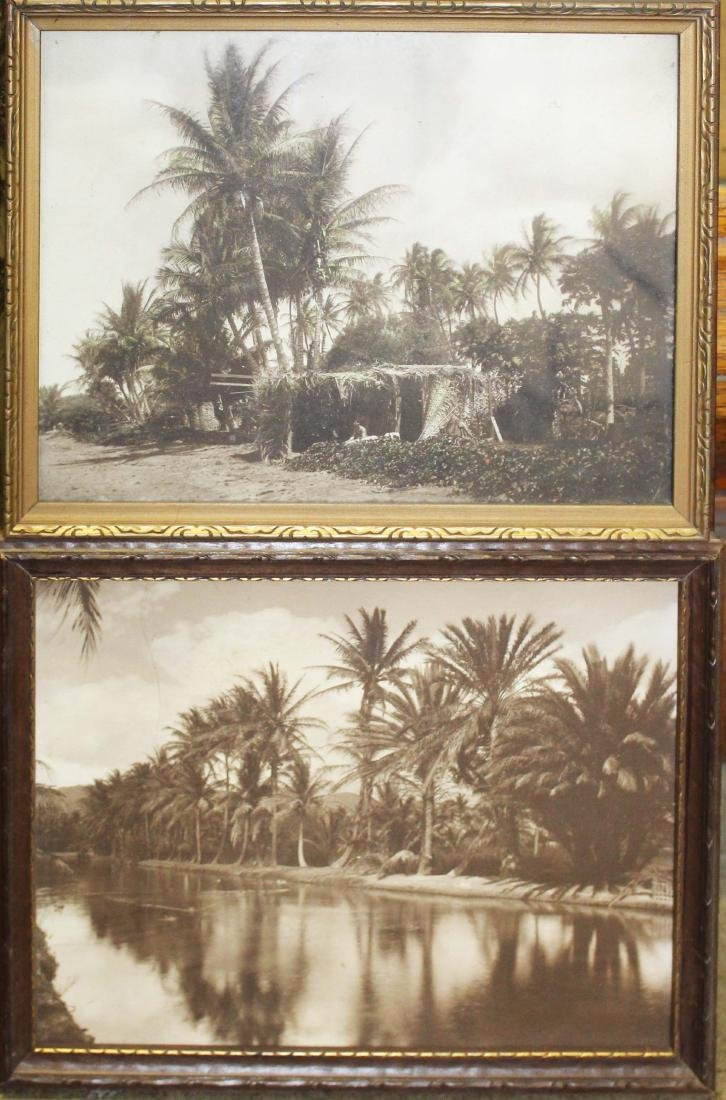 mid 20th c South Pacific photos, paintings - 2