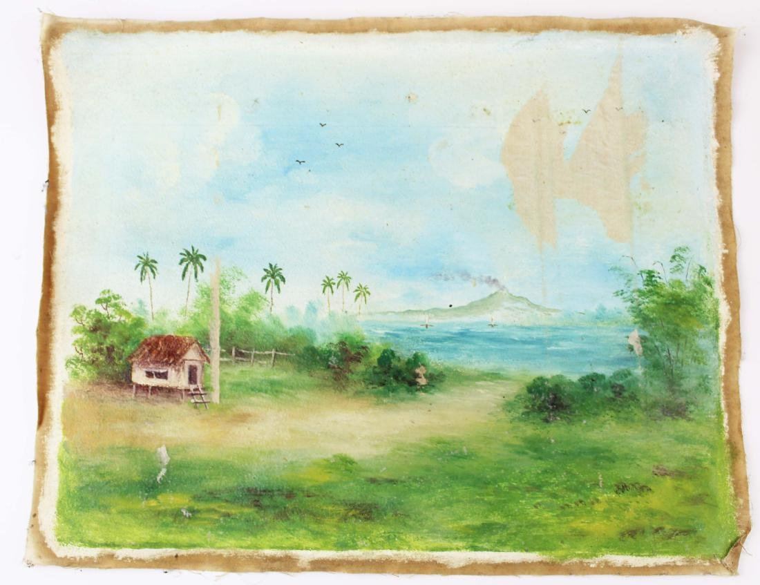 mid 20th c South Pacific photos, paintings - 4