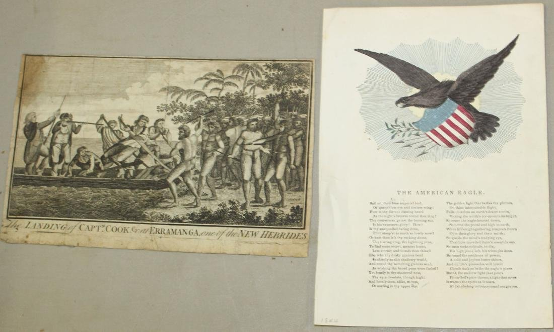 Lot of 18th and 19th c engravings of First Nations - 5