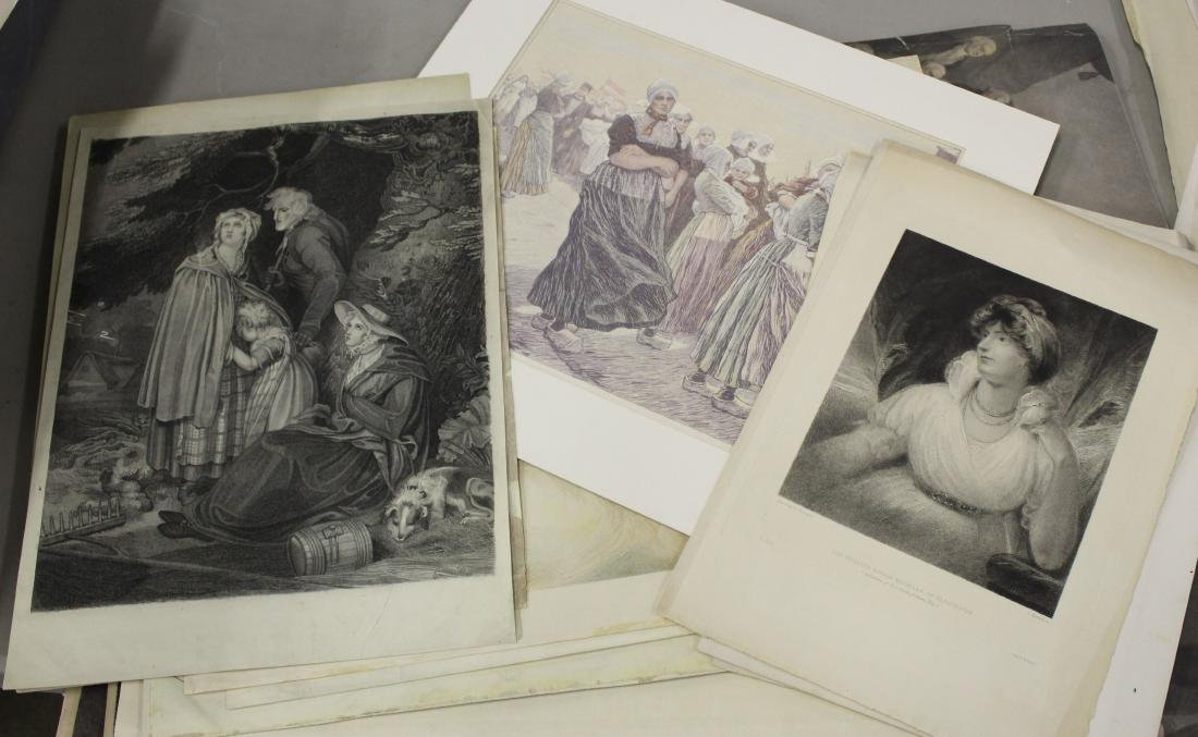 18th and 19th c engravings incl historic and romantic